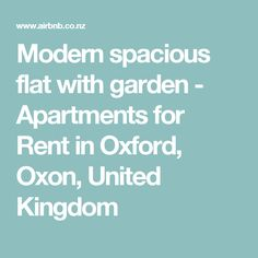 Entire home/apt in Oxford, United Kingdom. Just outside of central Oxford you will find my modern, ground-floor, two-bedroom flat with a private garden and free parking- offering easy access. Hillside Garden, Studio Apt, Lower East Side, Pool Houses, Bedroom Apartment, Outdoor Pool, Ontario, Beach House, United States