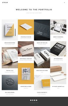 Stockholm - A Genuinely Multi-Concept Theme on Behance