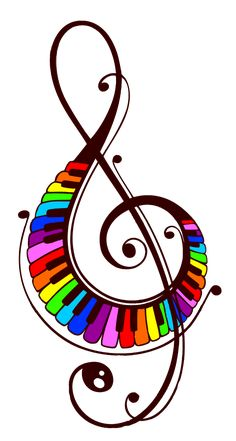 Music Images, Music Pictures, Music Artwork, Art Music, Small Inspirational Tattoos, Small Colorful Tattoos, Music Clipart, Geometric Shapes Art, Elephant Tattoo Design
