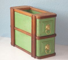 Hey, I found this really awesome Etsy listing at http://www.etsy.com/listing/157661045/upcycled-antique-sewing-machine-drawers