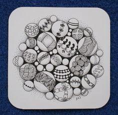 Sue's tangle trips: balls, balls, balls