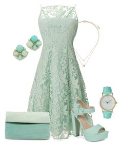 """""""Sans titre #220"""" by naomy-nona ❤ liked on Polyvore featuring Olivia Pratt, Nanette Lepore, Call it SPRING, Topshop, Triple 7 and Kate Spade"""