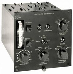 2254 original 1970 - compressor limiter