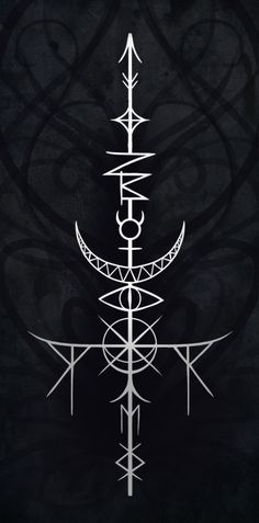 The Sword of Mib A sigil to enhance cleverness and wisdom by sigilseer.tumblr.com