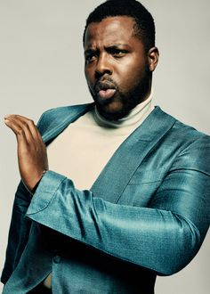The man who played M'Baku on being in awe during his big break and what we can expect from Jordan Peele's next film. Gq Magazine, Tv Actors, Fresh Face, New Words, Man Crush, Black Panther, Bearded Men, Role Models, Duke