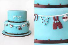 Jorge's Christening Cake