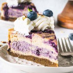 Pcos dessert recipes Vegan Cheesecake, Blueberry Cheesecake, Vegan Cake, Cheesecake Recipes, Blueberry Jam, Blueberry Desserts, Vegan Blueberry, Healthy Dessert Recipes, Gluten Free Desserts