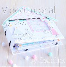 Tutorial Diario de Navidad by @losmundosdesand  ¿Eres de las que preparas cada año tu Diario de Navidad?¿Te gustaría crear un Diario originalísimo de la vida? Pues ¡entra y descubre el tutorial de Sandra!