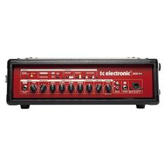 TC Electronic BH500 Bass Amplifier Head - 500 Watts Image 1