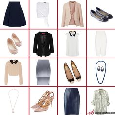 Here are the simple steps to Capsule Sudoku your closet! Capsule Sudoku (Bingo) is simple if you've watched my Building a Capsule Wardrobe series (here)!  Need a black skirt?  Shop now http://www.hoxtonclothing.com/winter-2016.html