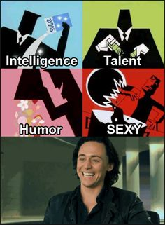And this is how Tom Hiddleston was created.  Ps - I love the Powerpuff Girls visuals.