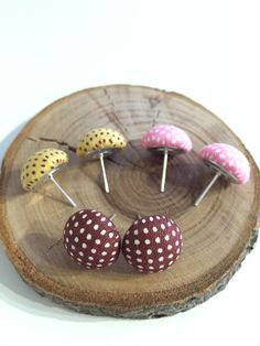 Polka Dot Fabric Dome Earrings - Choice of 8 Colours - As You Were Polka Dot Fabric, Polka Dots, Jewelry Accessories, Colours, Jewellery, Earrings, Ear Rings, Jewelry Findings, Jewels