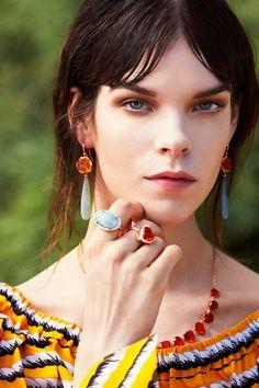 Irene Neuwirth  Fire Opal neklace
