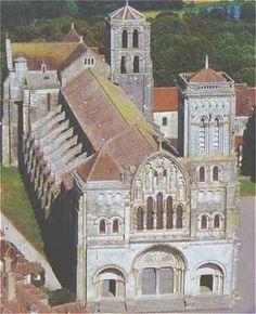 Abbaye de la Madeleine à Vézelay