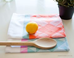 Woven Tea Towels (2 Pack) from Papercookie (via August Empress)