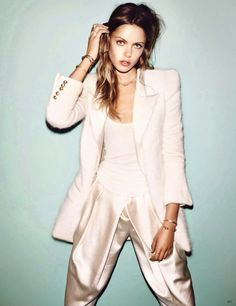 Frida Gustavsson by Hasse Nielsen for Vogue Germany