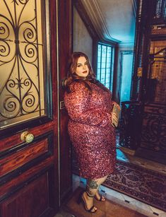 Eloquii debuts plus size evening wear with The Noir Collection featuring Tess Holliday Curvy Women Fashion, Plus Size Fashion, Girl Fashion, Curvy Outfits, Plus Size Outfits, Lingerie Vintage, Plus Size Evening Gown, Plus Size Prom, Looks Plus Size