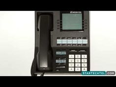How To Place A Conference Call On The Intertel Axxess 550.4500 Phone