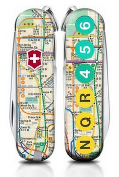 Today is the FINAL day to enter our design contest! Head towww.DesignSAK.com and enter to win $5,000! Tomorrow begins voting to pick our two winners. Big thanks to Kristin Oakes for this NYC Subway inspired design. #SwissArmyKnife #DesignSAKNYC #DesignSAKLA