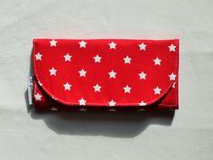Portfel bawełniany podłużny w lagablotte na DaWanda.com / Cotton wallet on DaWanda.com Continental Wallet, Sunglasses Case, Vogue, Fashion, Thanks, Moda, Fashion Styles, Fashion Illustrations, Fashion Models