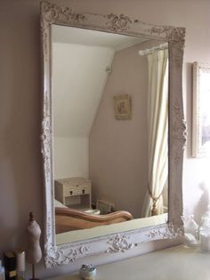 How To Paint A Mirror Frame Shabby Chic Queen Size Bed