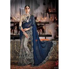 Sparkling Aroma Designer Saree ( D.No.3315 )
