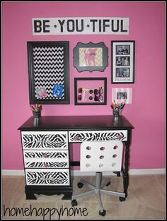 Girl Bedroom Ideas Zebra zebra print wooden corner shelves girls teen room decor college