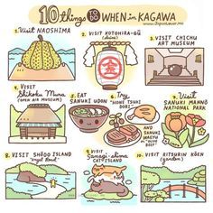 Lover Me Planning to go to Japan? Why not visit Kagawa Prefecture! Here are 10 things you can do there (there are lots more!)Planning to go to Japan? Why not visit Kagawa Prefecture! Here are 10 things you can do there (there are lots more! Go To Japan, Visit Japan, Japan Trip, Tokyo Trip, Japan Japan, Kagawa, Stuff To Do, Things To Do, Japon Tokyo