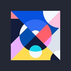 Kleurstaal color study by Bram Vanhaeren Geometric Shapes Art, Geometric Graphic, Abstract Shapes, Geometric Designs, Geometric Artwork, Book Design, Design Art, Triangle Art, Principles Of Art