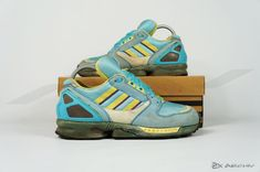 Adidas ZX 8020 C. Article: 033481. Release: 1991. Made in Germany. #adidasvintage #adidaszx8000