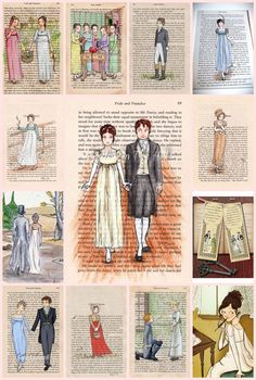 Artwork inspired by Jane Austen's Pride and Prejudice
