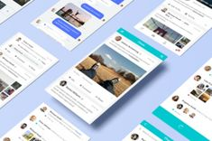 A new series of perspective screen app mockup to let you showcase all your different mobile designs with ease....