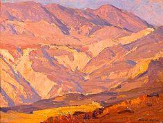 Edgar Alwin Payne. Laguna Hills. Oil on canvas. 12 x 16 in.