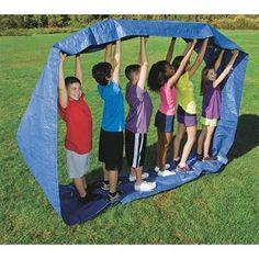 Run Mat- cool team building activity for kids.