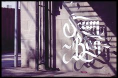 Floating Calligraphy - Me and Gonzo