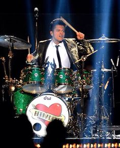 Bruno Mars--best part of the superbowl!! His mom's name on the drums