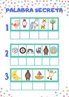 Toddler Learning Activities, Alphabet Activities, Preschool Activities, Bullet Journal School, Reading Skills, I School, Learning Spanish, Homeschool, Spanish Classroom