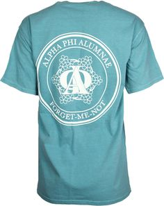 Alpha Phi Forget Me Not Tee