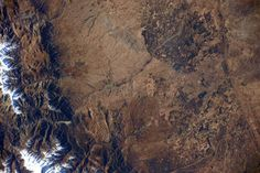 (IT) Ciao #Marocco! La medina di Marrakesh , patrimonio #UNESCO. E una grande vista dallo spazio! #WorldHeritage