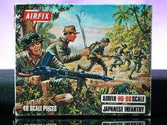 Airfix Japanese Infantry WWII Battleground Soldiers 1 72 Scale