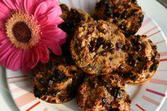 Paleo Chocolate Chip Raspberry Muffins #FreckledItalian