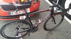 #TDF2015 This is the new Fenix SL of @Ridley_Bikes @jensdebus will ride on in today's stage!