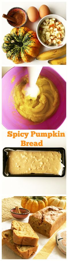 Bake these fall flavored bread loaves with your kids they will learn to love fall stimulating every sense they have! This super easy Pumpkin Bread recipe is gonna fill your home with a sweet taste of fall.Great toddler and baby finger food idea