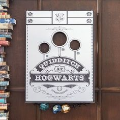 HARRY POTTER QUIDDITCH Bean Bag Toss Game Harry Potter Quidditch, Harry Potter Room, Harry Potter Cards, Bag Toss Game, Lame Fabric, Room Planner, Pottery Barn Teen, Dry Erase Markers, Bean Bag