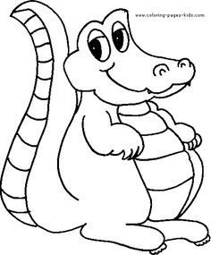 Top 10 Free Printable Crocodile Coloring Pages Online Crocodile