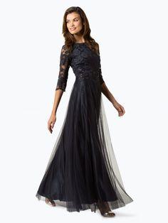 835fb4f6c0 Sukienki na studniówkę · Vera Mont Collection długa suknia wieczorowa  granatowa    Długa suknia wieczorowa  długie suknie wieczorowe