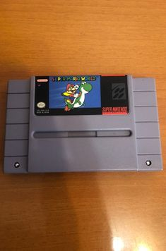 Super Nintendo Console, Super Mario World, Video Game Console, Nintendo Consoles, Games, Gaming, Plays, Game, Toys