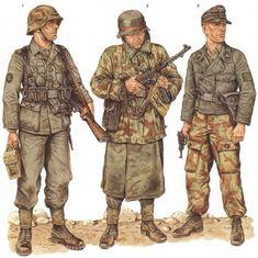 Osprey WW2 Uniform illustrations by Wolfenkrieger on DeviantArt