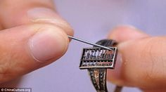 Is this the first wearable computer? 300-year-old Chinese abacus ring was used during the Qing Dynasty to help traders