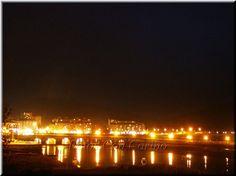Fotos Con Cariño: Viveiro a la noche, reflejos en el Puente de la Mi...
